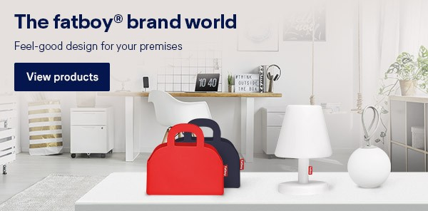 The fatboy® brand world: Feel-good design for your premises